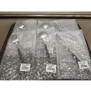 ゴア(goa)のクチポール ゴア ディナー ブラック カトラリー 6本 セット 正規品(カトラリー/箸)