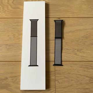 アップルウォッチ(Apple Watch)の純正品 Apple watch バンド スポーツループ 40mm アンカーグレイ(腕時計(デジタル))
