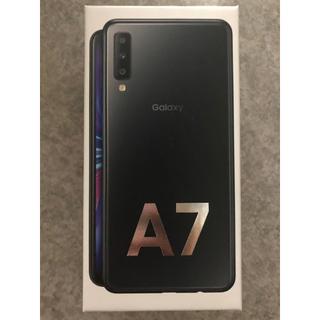 Galaxy - Galaxy A7  ブラック  64GB  SIMフリー 開通作業のみ使用