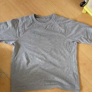 UNIQLO - ユニクロ 5部袖tシャツ