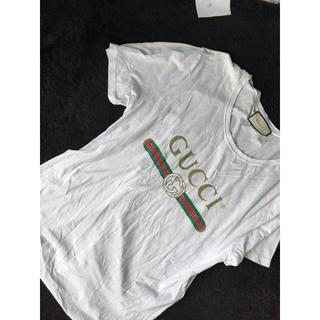 グッチ(Gucci)のGUCCIティシャツ(Tシャツ/カットソー(半袖/袖なし))