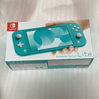 Nintendo Switch - Nintendo Switch Lite ターコイズ 新品未使用