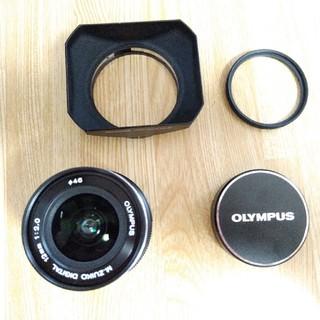 オリンパス(OLYMPUS)の限定品【LIMITED BLACK】 OLYMPUS 12mm f2.0 (レンズ(単焦点))