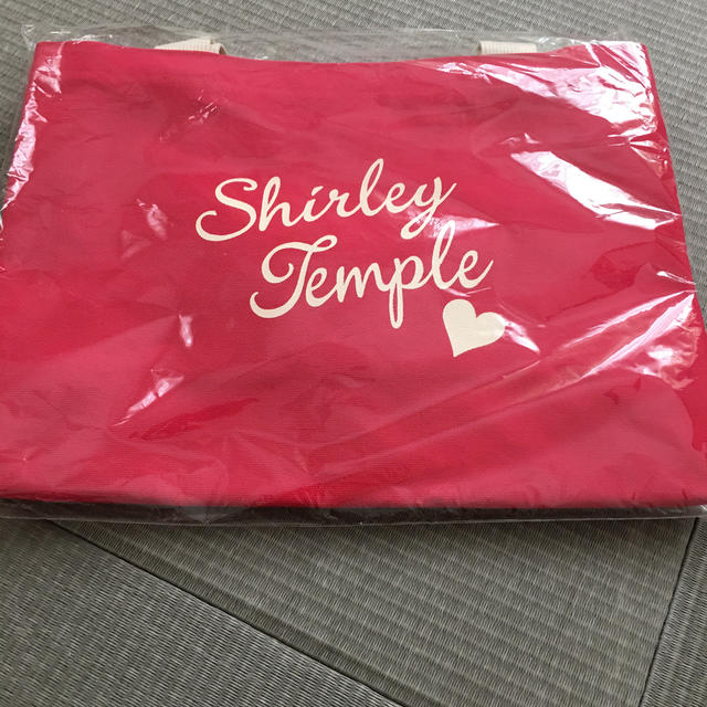 Shirley Temple(シャーリーテンプル)のシャーリーテンプル・ノベルティトートバッグ エンタメ/ホビーのコレクション(ノベルティグッズ)の商品写真
