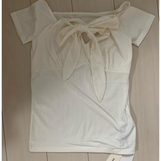 GRL - GRL Tシャツ リボン