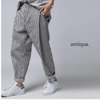 antiqua - antiqua アンティカ ストライプパンツ