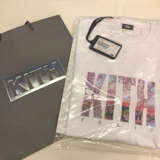 KITH TOKYO TEE  東京 ランドマーク 桜 マンデープログラム(Tシャツ/カットソー(半袖/袖なし))