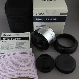 シグマ(SIGMA)のシグマ マイクロフォーサーズ用19mm F2.8DN(A)SILVER(レンズ(単焦点))
