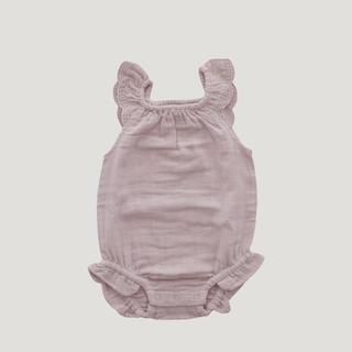キャラメルベビー&チャイルド(Caramel baby&child )のJamie Kay   ロンパース プレイスーツ コットン 70サイズ ピンク(ロンパース)