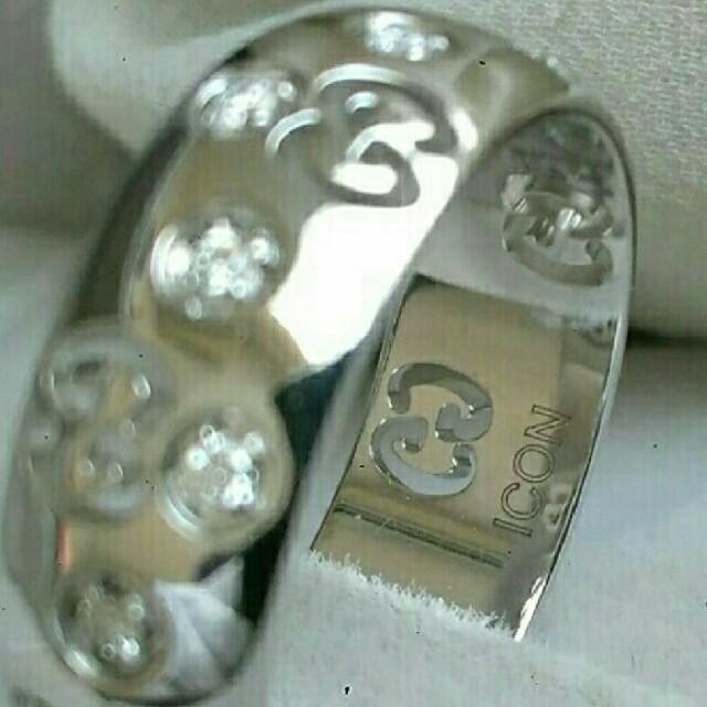 Gucci(グッチ)のグッチ アイコンリング レディースのアクセサリー(リング(指輪))の商品写真