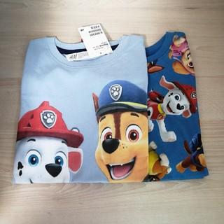 H&M - パウパトロール Tシャツ 110-115 セット