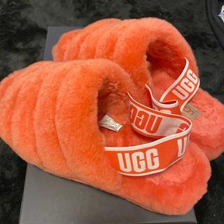 アグ(UGG)のUGGモコモコサンダル(サンダル)