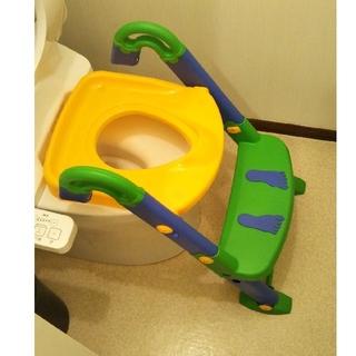 ◆3wayトイレトレーナー◆オマル◆補助便座◆オマルポット未使用◆説明書あり
