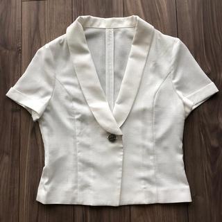 オフオン(OFUON)のofuon 半袖ジャケット(テーラードジャケット)