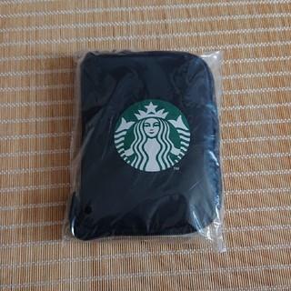 Starbucks Coffee - TO GO ポケットダブル エコバッグ  ブラック