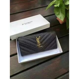 イヴサンローランボーテ(Yves Saint Laurent Beaute)の超美品 YSL サンローラン 長財布 黒い(財布)