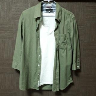 ムジルシリョウヒン(MUJI (無印良品))のフレンチリネン ワークシャツ(シャツ)