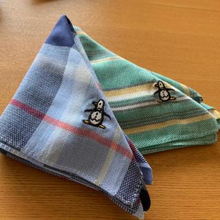 マンシングウェア(Munsingwear)のMunsingwear ハンカチ2枚セット(ハンカチ/ポケットチーフ)
