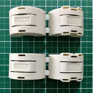 ワンタッチ分割トロイダルコア (TFT-112514N) 2個セット(PCパーツ)