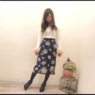 デビュードフィオレ(Debut de Fiore)のデビュードフィオレ☆レースタイトスカート(ひざ丈スカート)