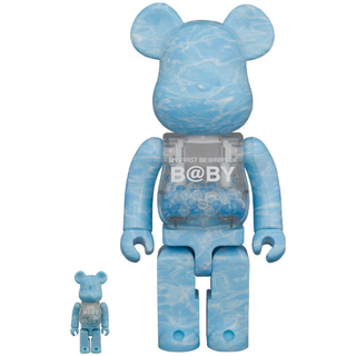MEDICOM TOY - my first be@rbrick b@by water crest 400%