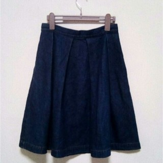 ドットアンドストライプスチャイルドウーマン(Dot&Stripes CHILDWOMAN)のチャイルドウーマン デニムスカート(ひざ丈スカート)
