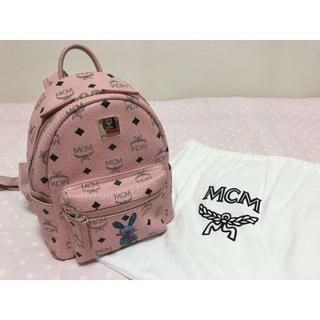 MCM - MCM リュック バックパック    ピンク miniサイズ