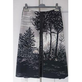 Drawer - 定価16万マルニMARNIフォレスト柄スカート40サイズ未使用品