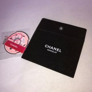 シャネル(CHANEL)の3046 CHANEL キラキラカードケース(名刺入れ/定期入れ)