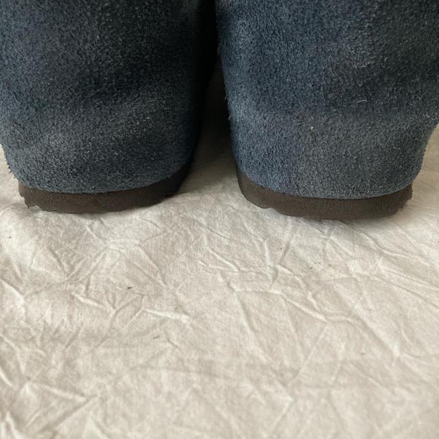 BIRKENSTOCK(ビルケンシュトック)の【値下げ】ビルケンシュトック  ザルツブルク 限定色 ブルー 39 レディースの靴/シューズ(スリッポン/モカシン)の商品写真