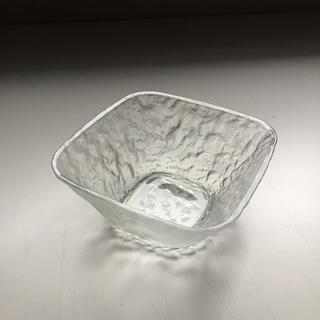 トウヨウササキガラス(東洋佐々木ガラス)の【昭和レトロ】東洋ガラス 角小鉢 5個セット 箱入り(食器)