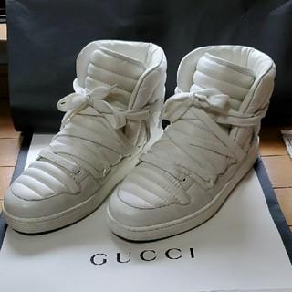 グッチ(Gucci)のハイカットスニーカー GUCCI(スニーカー)