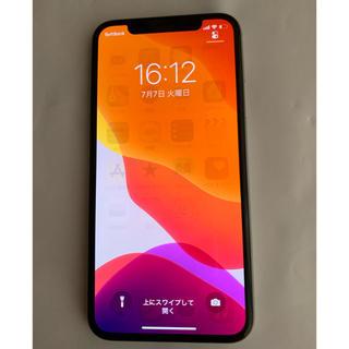 Apple - 美品 iPhonex 64gb  シルバー simロック ソフトバンク 訳あり