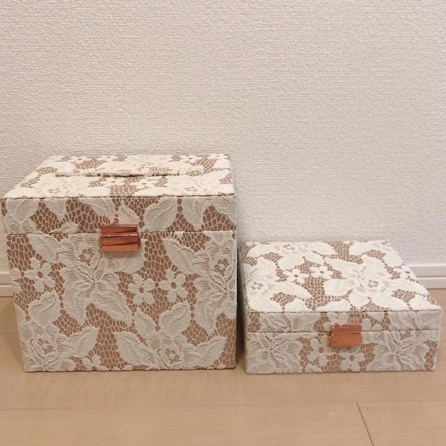 Francfranc(フランフラン)のFrancfranc ジュエリー&コスメボックス インテリア/住まい/日用品の収納家具(ケース/ボックス)の商品写真