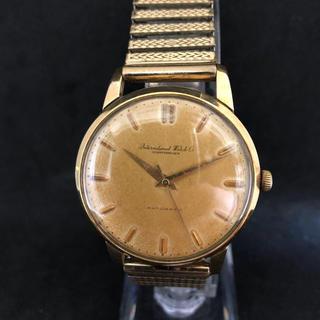 インターナショナルウォッチカンパニー(IWC)の希少 IWC SCHAFFHAUSEN K18 自動巻 メンズ腕時計(腕時計(アナログ))
