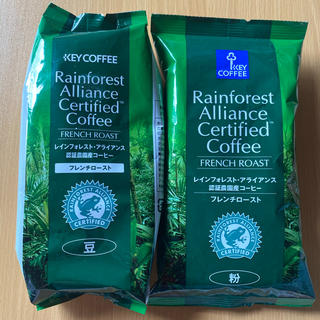 キーコーヒー(KEY COFFEE)のKEY COFFEE 2袋セット(コーヒー)