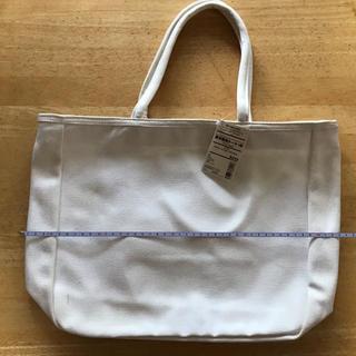 MUJI (無印良品) - 無印良品 厚手帆布トート、中サイズ