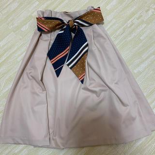 31 Sons de mode - トランテアン スカーフベルトスカート