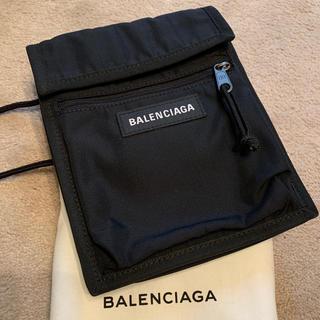 Balenciaga - BALENCIAGA エクスプローラー ポーチ 黒 ナイロン
