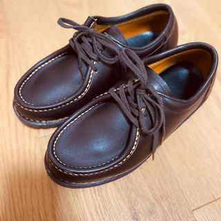 パラブーツ(Paraboot)の中山製靴 23cm チロリアンシューズ 革靴(ローファー/革靴)