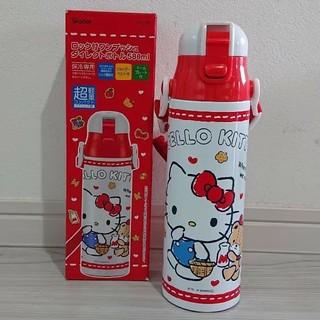 ハローキティ(ハローキティ)のハローキティ 新品 超軽量 ダイレクトステンレスボトル 580ml(水筒)
