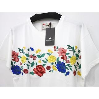 インタープラネット(INTERPLANET)の新品 定価8800円 インタープラネット Botanical Style 刺繍T(Tシャツ(半袖/袖なし))