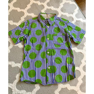 ラゲッドワークス(RUGGEDWORKS)の特価!【RUGGED WORKS】130cm ストライプ半袖シャツ(Tシャツ/カットソー)