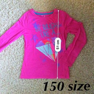 ギャップキッズ(GAP Kids)のgap【トップス◇ロングTシャツ】150サイズ(Tシャツ/カットソー)