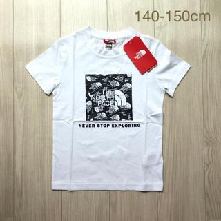 THE NORTH FACE - 再入荷【日本未入荷】ザ ノースフェイス 総柄ボックスロゴ Tシャツ 140