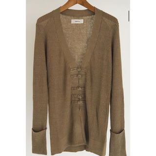 TODAYFUL - todayful China Linen Cardigan ブラウン