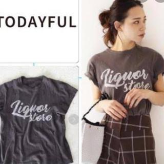 トゥデイフル(TODAYFUL)のトゥデイフル ダメージTシャツ ロゴ  ロンハーマン(Tシャツ(半袖/袖なし))