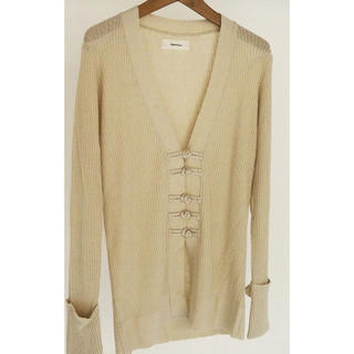 TODAYFUL - todayful China Linen Cardigan クリーム