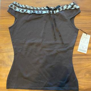 フォクシー(FOXEY)の専用 フォクシー リボン カットソー 未使用(Tシャツ(半袖/袖なし))