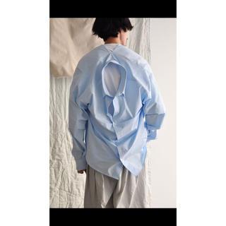 マルタンマルジェラ(Maison Martin Margiela)の20ss  HED MAYNER  open back shirt(シャツ)